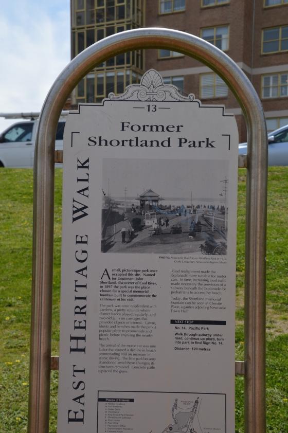 Stop 13: Former Shortland Park