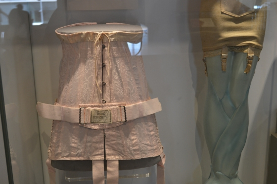 The only corsets I was allowed to photograph