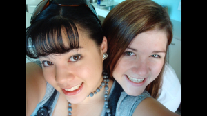 Our first time in Brisbane together in 2008