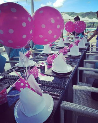 Soiree decorations