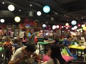 Food Bazaar Atmosphere